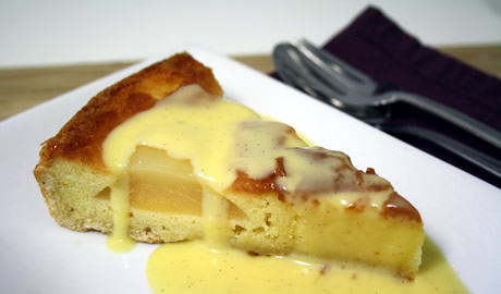 Pear-tart-with-creme-anglaise