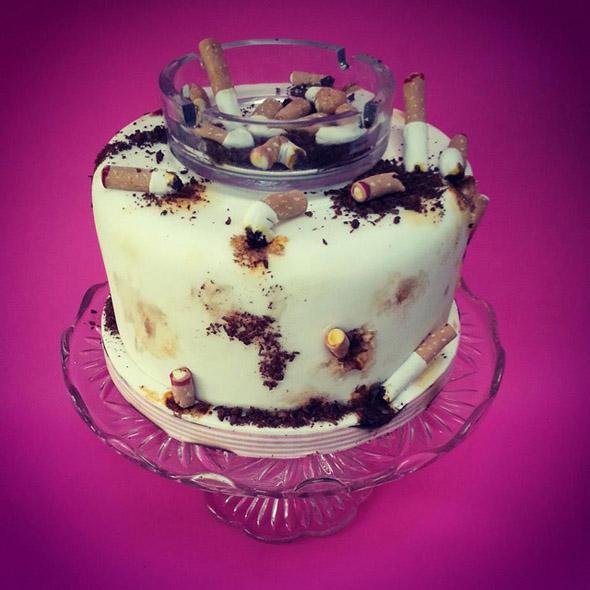 cigarette-cake